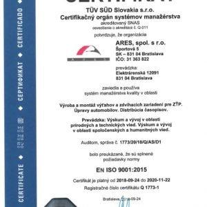 ISO 9001 - systém manažérstva kvality