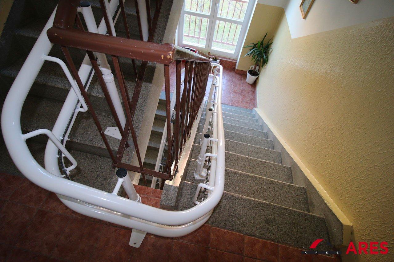 Dráha zákruty Stoličkového výťahu | ARES