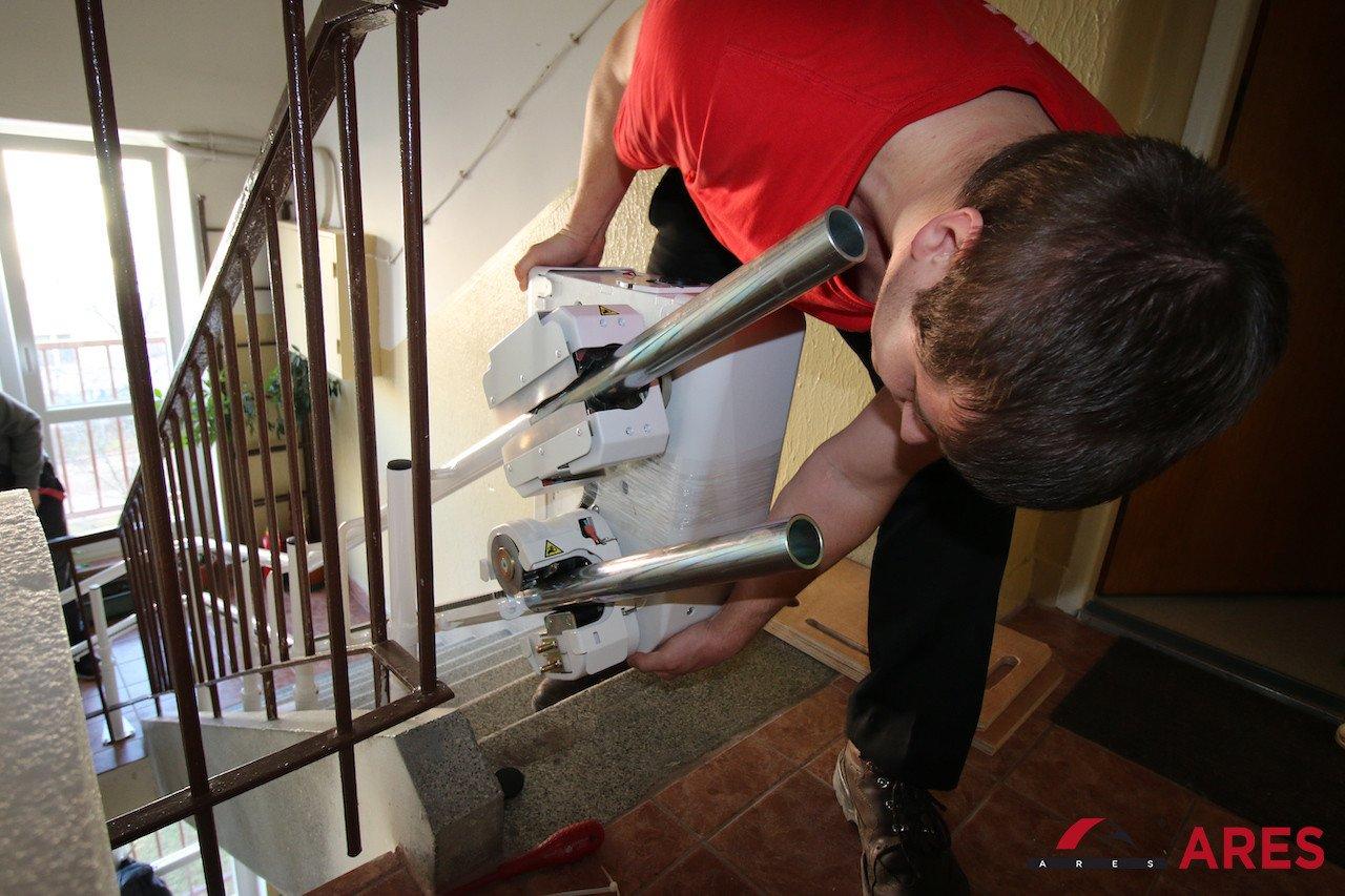 Inštalácia Stoličky | ARES