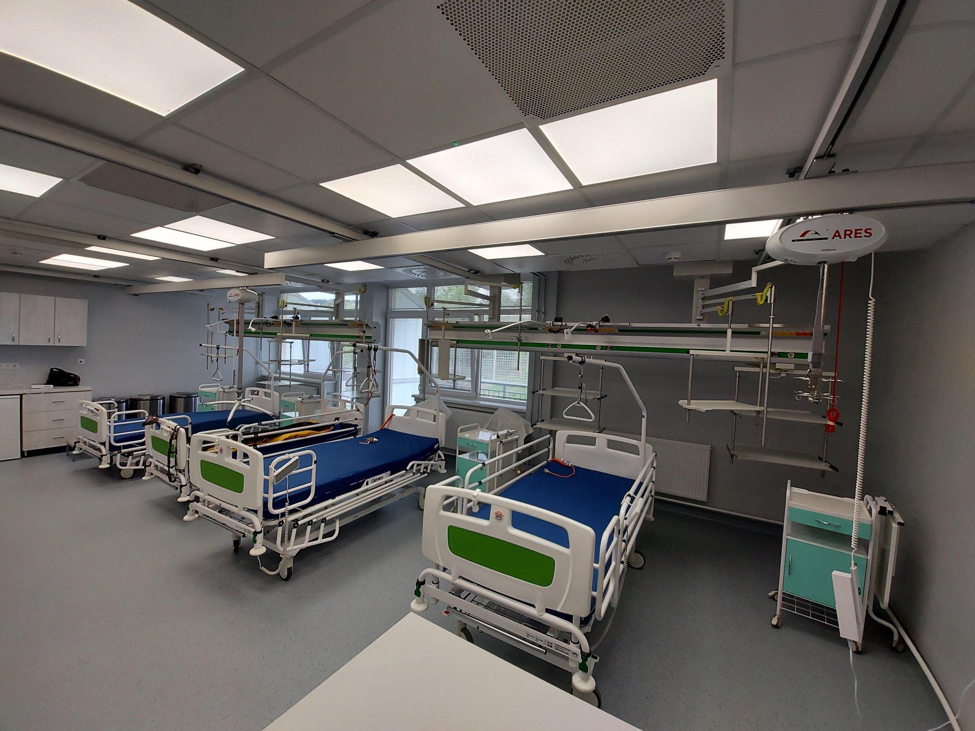Inštalácia Stropných zdvihákov v Kysuckej nemocnici v Čadci
