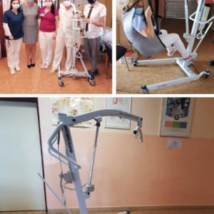 Odovzdaný mobilný zdvihák do Nemocnice s poliklinikou v Bojniciach