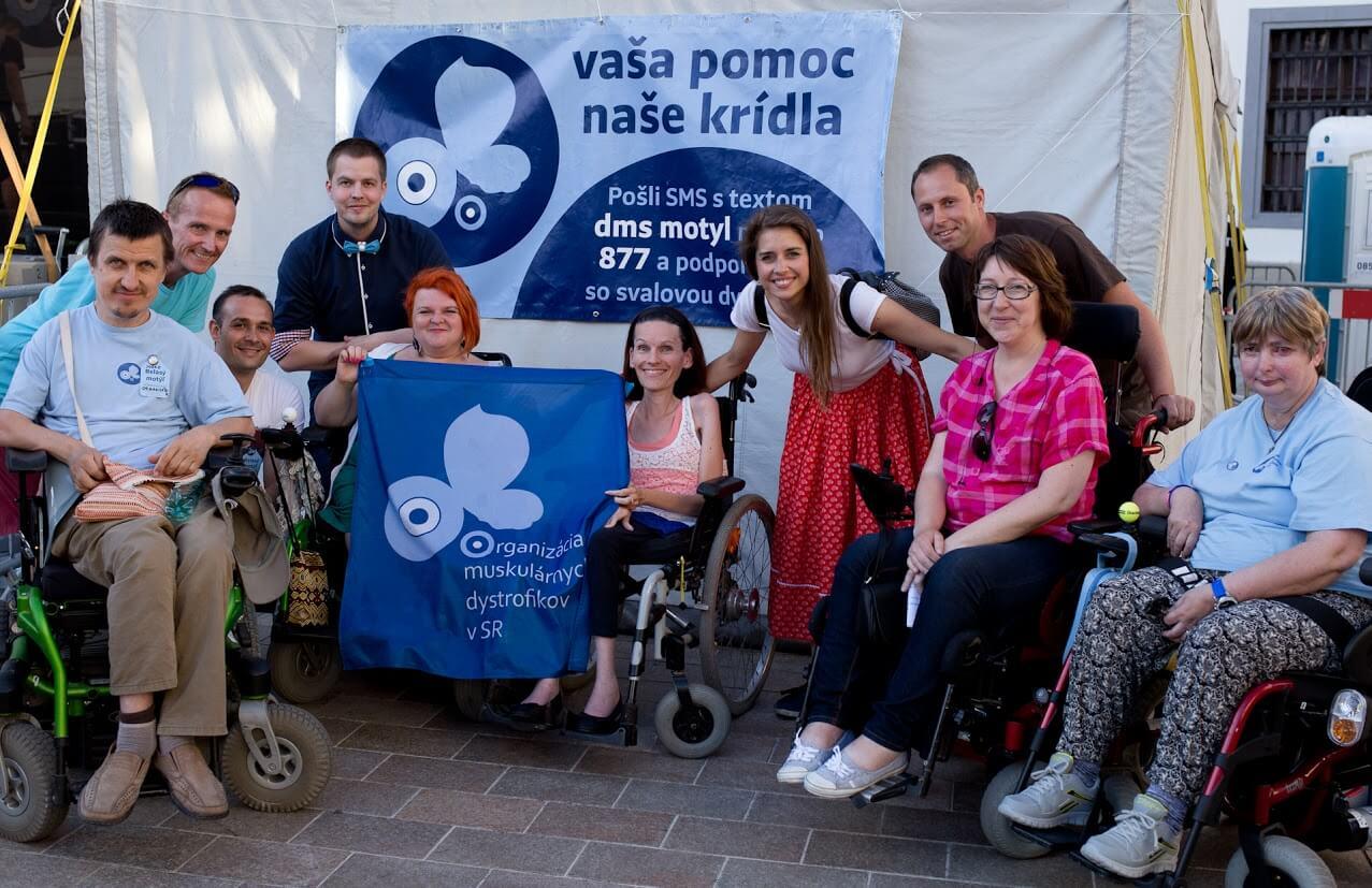 Jozef Blažek na Koncerte belasého motýľa s členmi OMD v SR a Simou Martausovou (Foto - Pavol Kulkovský)