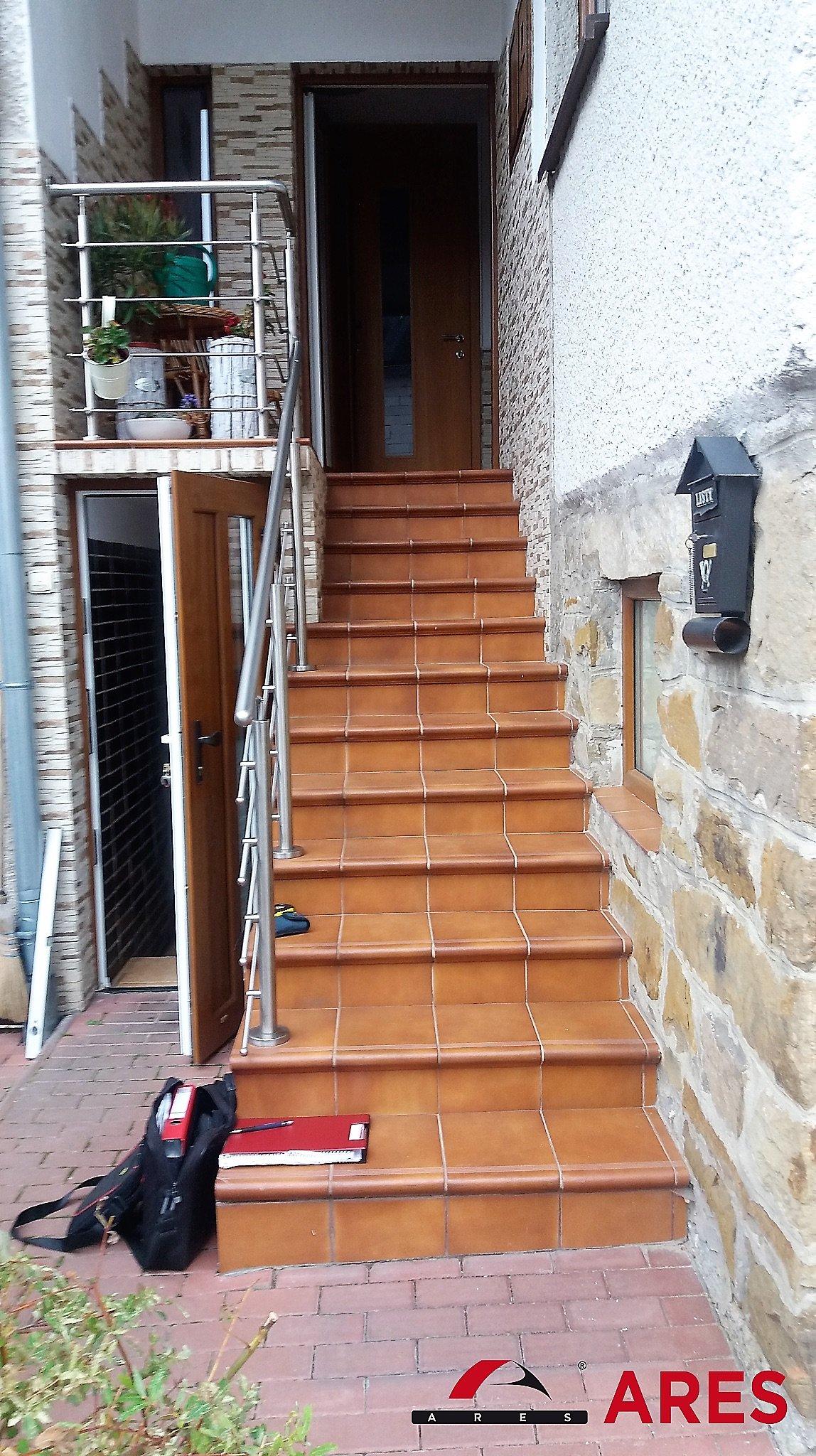 Zameranie novej schodiskovej plošiny   ARES